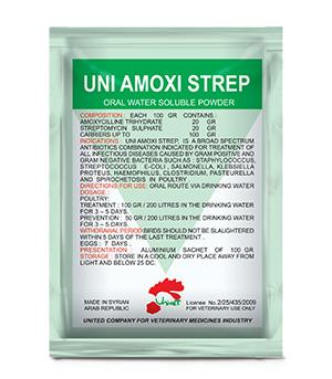 UNI AMOXI STREP