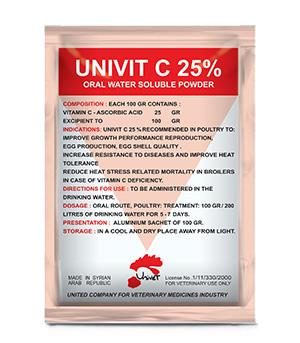 UNIVIT C 25%